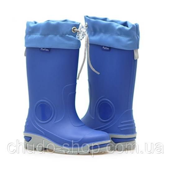 Резиновые сапоги Muflon 33-487 синие (размеры с 29 по 36)