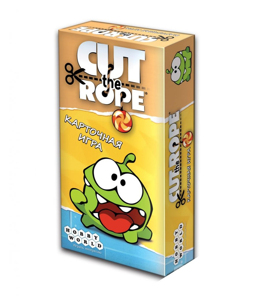 Настольная игра Cut the Rope (Ам Ням!)