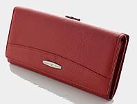 Длинный кожаный кошелек Tailian T0827 red