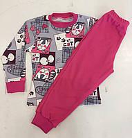 Пижама детская интерлок для девочек