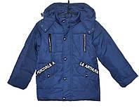 Демисезонная куртка для мальчика 4-8 лет TAILANG синяя