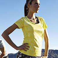 Женская крутая функциональная футболка для спорта Crivit размер XS
