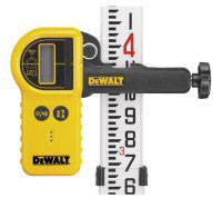 Детектор цифровой водонипроницаемый лазерный с зажимом для ротационных лазеров DeWALT DE0772 (США)