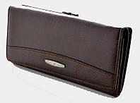 Длинный кожаный кошелек Tailian T0827 brown