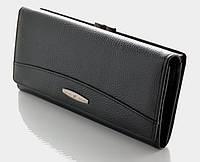 Длинный кожаный кошелек Tailian T0827 black
