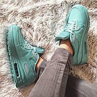 Женские голубые кроссовки Air Max  код 197 40 размер