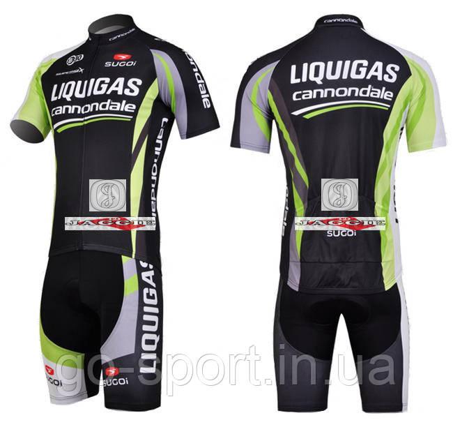 Велоформа Liquigas  2011 bib