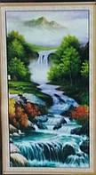 Набор для творчества со стразами 5D Водопад Артикул: 198646 Размер: 65*120 см
