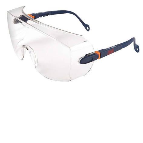 Очки защитные прозрачные 3M™ 2800, фото 2