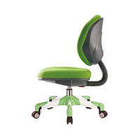 Кресло метал белый / обивка зеленая однотонная MEALUX Y-120 KZ