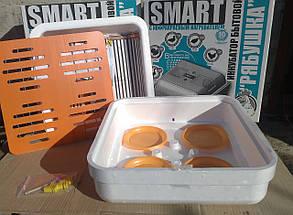Автоматический инкубатор для яиц Рябушка Smart Plus - 70 цифровой , инфракрасный нагревательный элемент, фото 2