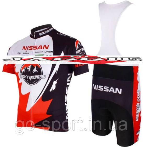 Велоформа NISSAN 2009 bib