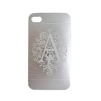 Панель для iPhone 6  с гравировкой на заказ! Серебро.