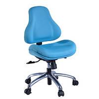 Кресло обивка голубая в точку Y-128 AB