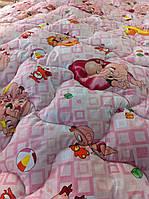 Одеяло детское 110х140 см шерстяное TM KRISPOL