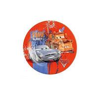 Тарелка десертная круглая 19см Luminarc Disney Cars2 H1495. Тарелка Люминарк