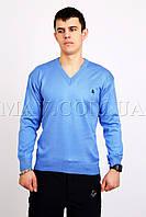 Пуловер мужской POLO голубой
