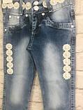 Джинси для дівчаток, 7-10років, фото 2