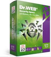 Антивирус Dr. Web Security Space 11 лицензия на 12 мес., На 1 ПК Электронный ключ