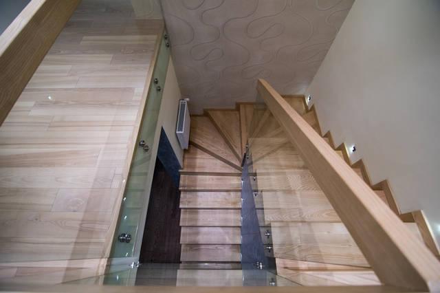 Лестница, вид сверху.