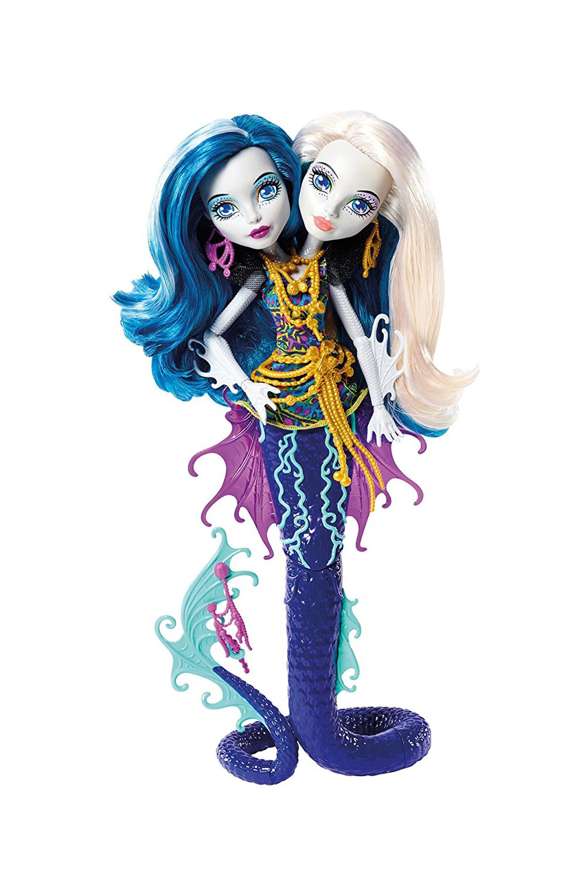 Кукла  Монстр Хай Пэри и Пёрл Серпентайн (Peri & Pearl) из серии Great Scarrier Reef Monster High