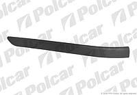 Бампер задний (накладка левая) SEDAN BMW 3 E46 98-01