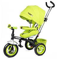 Велосипед детский трехколесный Turbo Trike M 3193-2A Зеленый