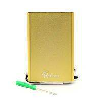 """Внешний карман USB2.0 ДЛЯ HDD SATA 2,5"""" PROLOGIX BS-U25F Gold"""