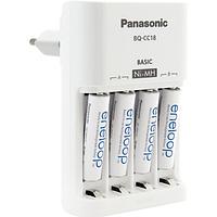 Зарядное устройство Panasonic Eneloop BQ-CC51 Basic Charger + 4 пальчиковых АА аккумулятора Panasonic Eneloop