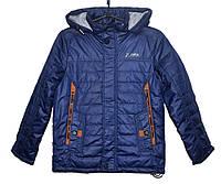 Демисезонная куртка для мальчика 8-12 лет JieKei Quality синяя