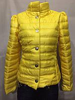 Куртка женская песочная