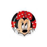 Luminarc Disney Oh Minnie.Тарелка десертная круглая 19см H6438. Тарелка Люминарк