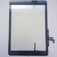 Сенсорный экран для Apple iPad Air черный с кнопкой Home