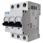 Автоматический выключатель 6A 6кА 3 полюса тип C PL6-C6/3 Eaton (Moeller)