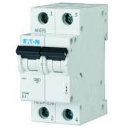 Автоматический выключатель 20A 4,5кА 2 полюса тип C PL4-C20/2 Eaton (Moeller)