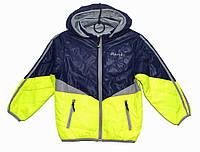 Демисезонная двусторонняя куртка для мальчика 2-5 лет Jingpin