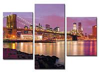 "Картина для декора""Бруклинский мост"""