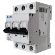 Автоматический выключатель 6A 4,5кА 3 полюса тип C PL4-C6/3 Eaton (Moeller)