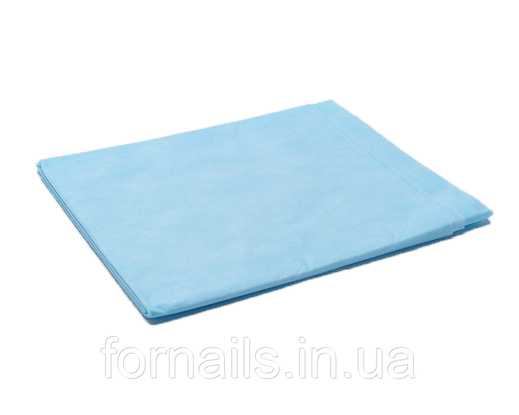 Простынь одноразовая голубая 20 шт, р-р 0.8*2 м, Doily
