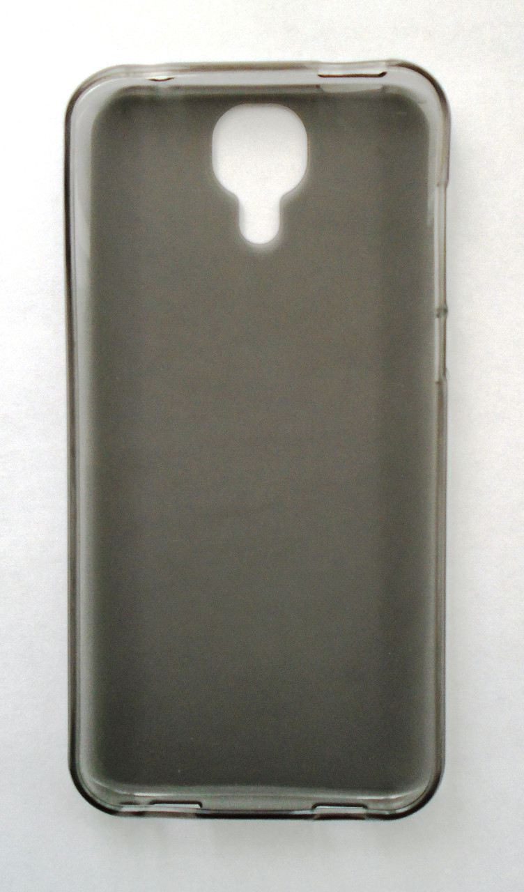 Чехол бампер силиконовый Doogee X9 Pro серый
