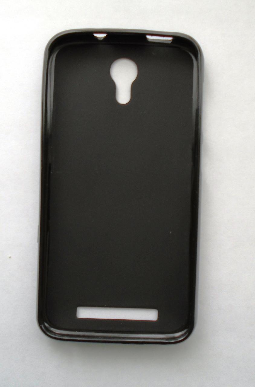 Чехол бампер силиконовый Doogee Y100 Y100 Pro черный
