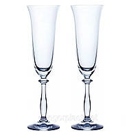 Набор бокалов Bohemia Angela для шампанского 2 шт. (190 мл)