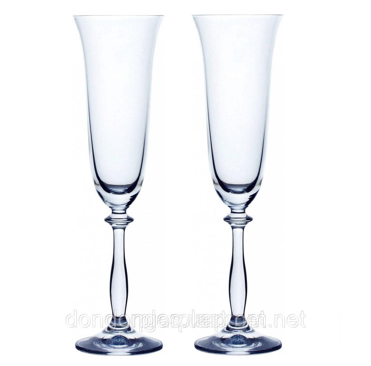 Набор бокалов Bohemia Angela для шампанского 2 шт. (190 мл) - ООО «Донгорпласт» в Киеве