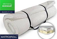 Матрас с латексом и ортопедической кислородной пеной - Roll Roll Oxigen Foam Latex с латексом и кислородной пеной Нестандартный размер 1м2