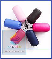 Пледы флисовые цветные в чехлах из болони под заказ (от 50 шт.)
