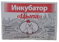 """Инкубатор для перепелиных яиц """"Цыпа"""" ИБ-140 (механический переворот, аналоговый терморегулятор)"""