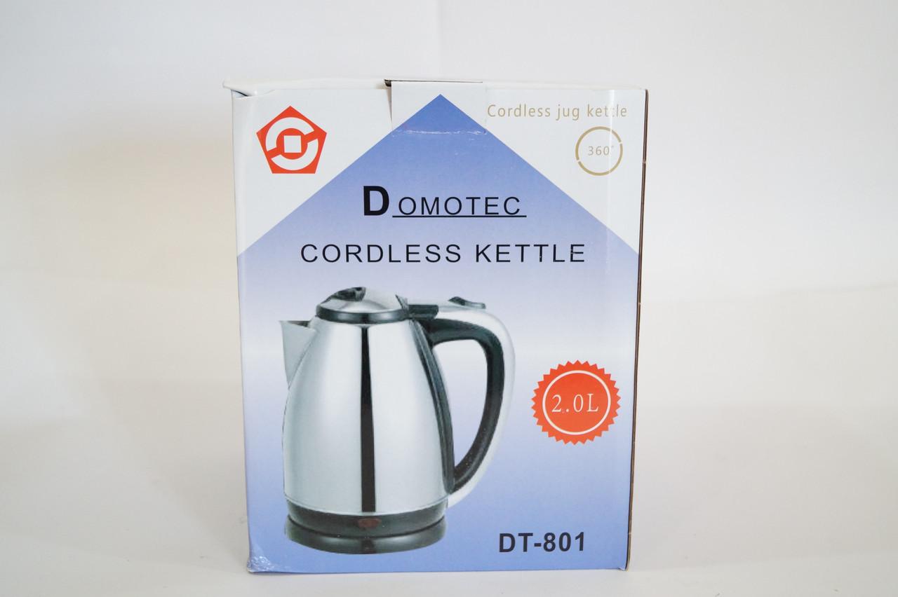 Дисковый электрочайник Domotec DT- 801