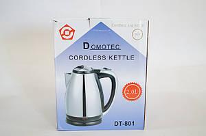Дисковий електрочайник Domotec DT - 801