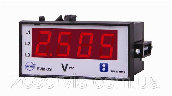 Програмований вольтметр змінного струму ENTES EVM-3C-48