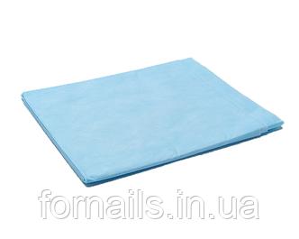 Простынь одноразовая голубая 10 шт, р-р 0.8*2 м, Doily